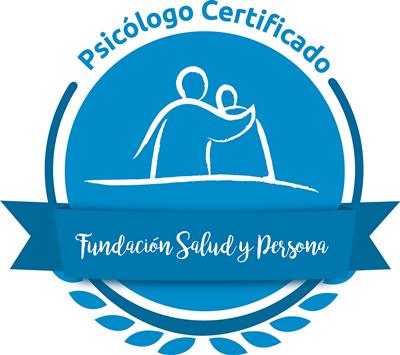 Psicólogo Certificado Fundación Salud y Persona