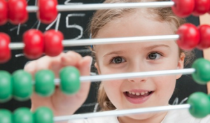 matemáticas con ábaco para niños