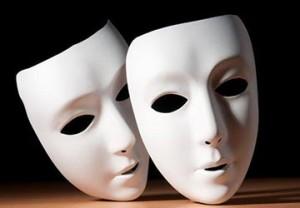 máscaras teatro