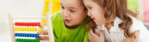niños y uso del ábaco