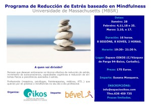 reducción de estrés mindfulness 2015