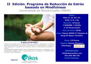 Programa reducción del estrés 2016/2