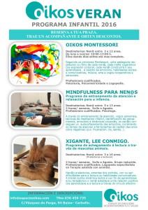 Programas Oikos infantil 2016