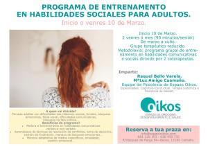 programa de entrenamiento de habilidades sociales 2017
