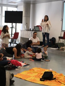educación sensorial para bebés