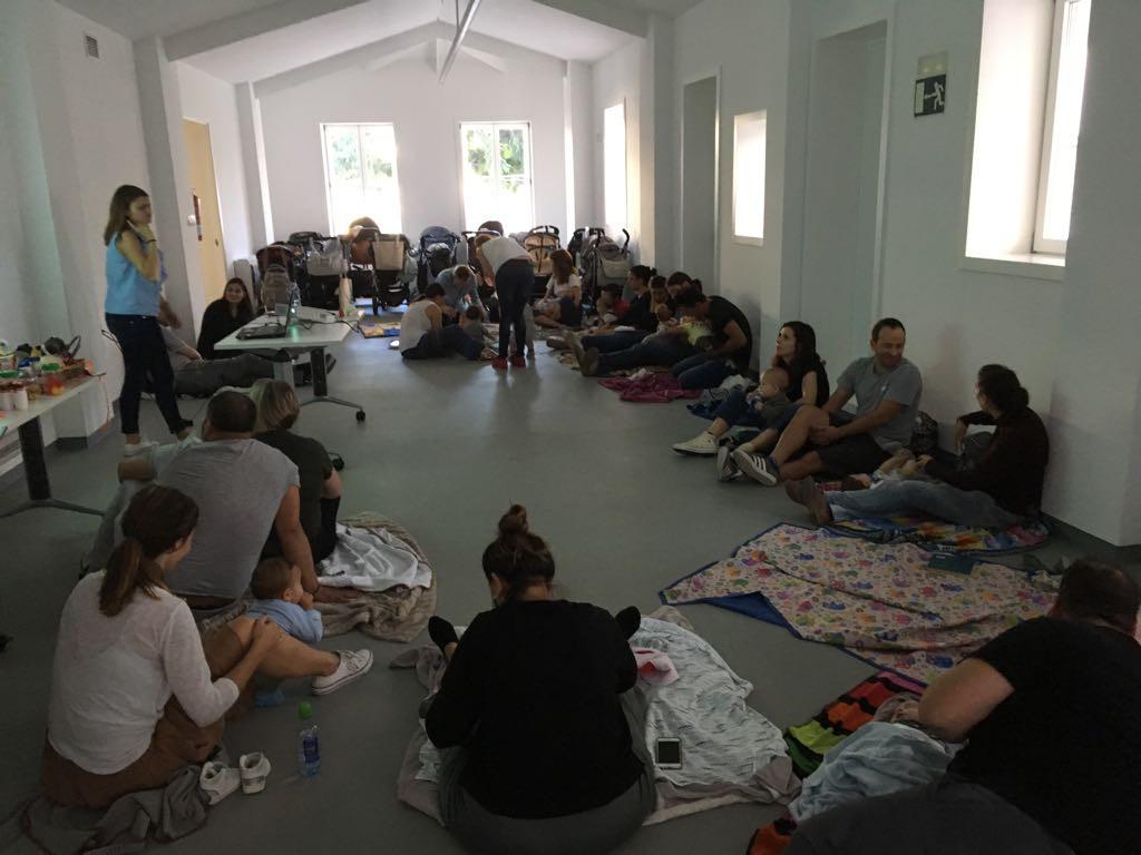 Curso educación sensorial para bebés en Vigo 2017