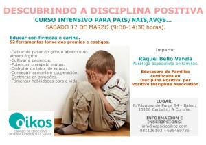 curso disciplina positiva marzo 2019/2