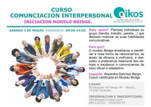 curso comunicación interpersonal - modelo bridge marzo 2019/2