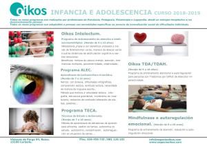 programa infancia y adolescencia 2018-19