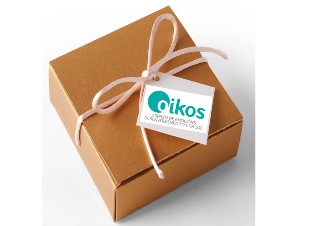 imagen caja regalo Espacio Oikos