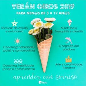 cartel curos de verano Oikos 2019