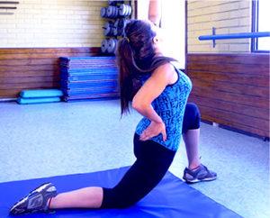 curos y fisioterapia gimnasia postparto