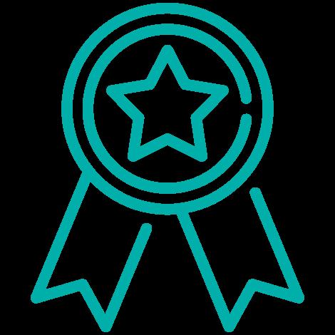 Icono medalla Espacio Oikos