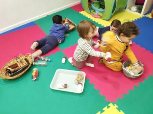 Baby Oikos: juegos adaptados estimulación temprana
