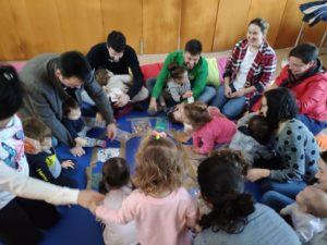 Talleres para familias y niños juntos de desarrollo