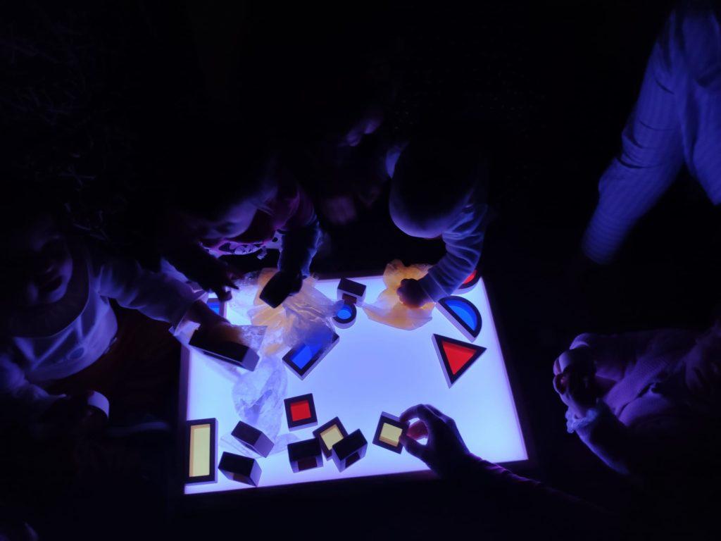 educación sensorial para niños de todas las edades