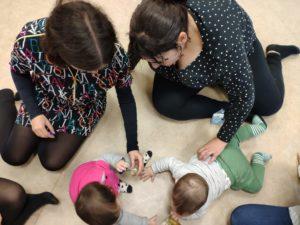 La estimulación sensorial y los bebés