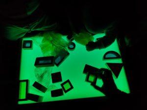 taller estimulación sensorial niños