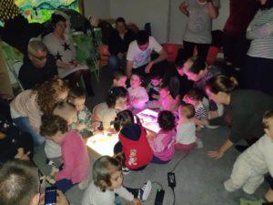 Desarrollo y pautas con edución sensorial en Espacio Oikos