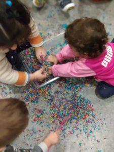 El juego en la educación sensorial