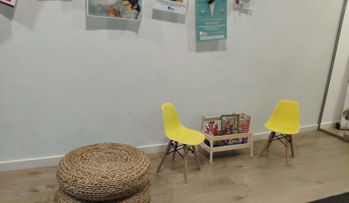 Sala lectura niños Espacio Oikos