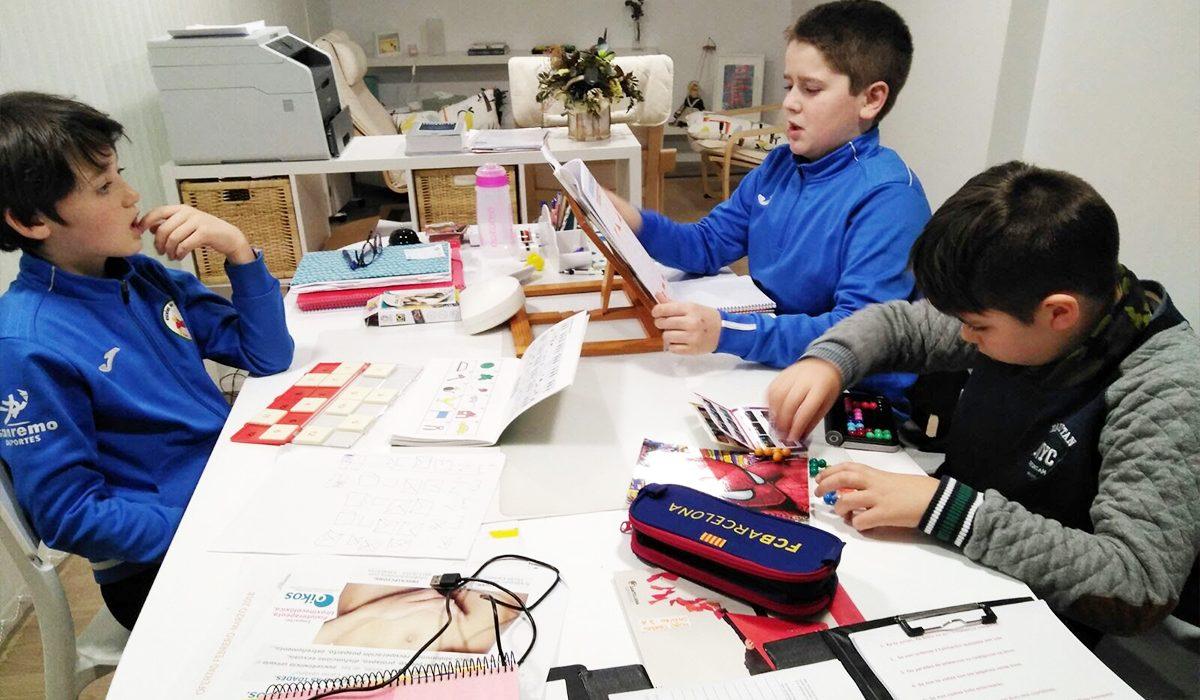 Espacio Oikos: pedagogía en grupo niños